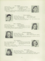 Page 39, 1945 Edition, Lawrence High School - Blue and White Yearbook (Lawrence, MA) online yearbook collection