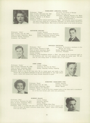 Page 40, 1945 Edition, Lawrence High School - Blue and White Yearbook (Lawrence, MA) online yearbook collection