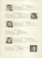 Page 42, 1945 Edition, Lawrence High School - Blue and White Yearbook (Lawrence, MA) online yearbook collection