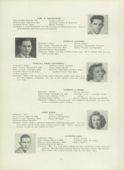 Page 45, 1945 Edition, Lawrence High School - Blue and White Yearbook (Lawrence, MA) online yearbook collection