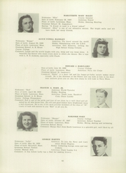 Page 46, 1945 Edition, Lawrence High School - Blue and White Yearbook (Lawrence, MA) online yearbook collection