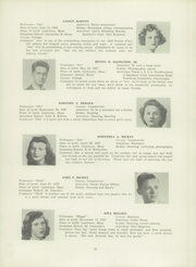 Page 47, 1945 Edition, Lawrence High School - Blue and White Yearbook (Lawrence, MA) online yearbook collection