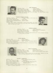 Page 52, 1945 Edition, Lawrence High School - Blue and White Yearbook (Lawrence, MA) online yearbook collection