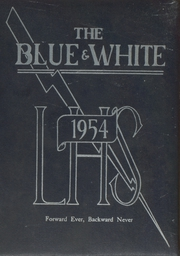 Lawrence High School - Blue and White Yearbook (Lawrence, MA) online yearbook collection, 1954 Edition, Page 1
