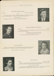 Page 11, 1934 Edition, Attleboro High School - Tattletale Yearbook (Attleboro, MA) online yearbook collection