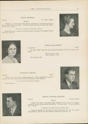 Page 15, 1934 Edition, Attleboro High School - Tattletale Yearbook (Attleboro, MA) online yearbook collection