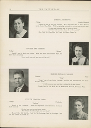 Page 16, 1934 Edition, Attleboro High School - Tattletale Yearbook (Attleboro, MA) online yearbook collection