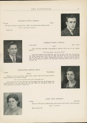 Page 17, 1934 Edition, Attleboro High School - Tattletale Yearbook (Attleboro, MA) online yearbook collection