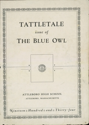 Page 3, 1934 Edition, Attleboro High School - Tattletale Yearbook (Attleboro, MA) online yearbook collection