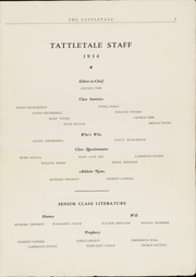 Page 5, 1934 Edition, Attleboro High School - Tattletale Yearbook (Attleboro, MA) online yearbook collection