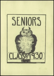 Page 11, 1930 Edition, Arlington High School - Yearbook (Arlington, MA) online yearbook collection