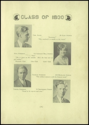 Page 15, 1930 Edition, Arlington High School - Yearbook (Arlington, MA) online yearbook collection