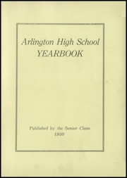 Page 7, 1930 Edition, Arlington High School - Yearbook (Arlington, MA) online yearbook collection