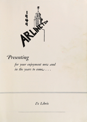 Page 5, 1949 Edition, Arlington High School - Yearbook (Arlington, MA) online yearbook collection