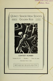 Page 3, 1935 Edition, Quincy High School - Goldenrod Yearbook (Quincy, MA) online yearbook collection