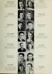 Page 13, 1942 Edition, Quincy High School - Goldenrod Yearbook (Quincy, MA) online yearbook collection