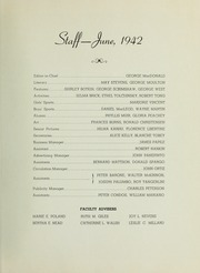 Page 9, 1942 Edition, Quincy High School - Goldenrod Yearbook (Quincy, MA) online yearbook collection