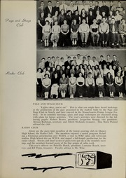 Page 15, 1951 Edition, Quincy High School - Goldenrod Yearbook (Quincy, MA) online yearbook collection