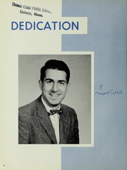 Page 8, 1956 Edition, Quincy High School - Goldenrod Yearbook (Quincy, MA) online yearbook collection