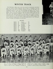 Page 156, 1962 Edition, Quincy High School - Goldenrod Yearbook (Quincy, MA) online yearbook collection