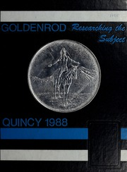 1988 Edition, Quincy High School - Goldenrod Yearbook (Quincy, MA)