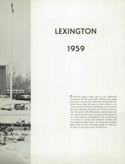 Page 7, 1959 Edition, Lexington High School - Lexington Yearbook (Lexington, MA) online yearbook collection