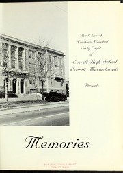 Page 5, 1968 Edition, Everett High School - Memories Yearbook (Everett, MA) online yearbook collection