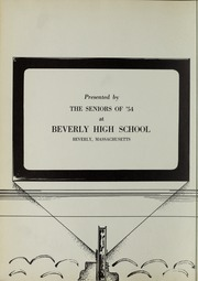 Page 6, 1954 Edition, Beverly High School - Beverlega Yearbook (Beverly, MA) online yearbook collection