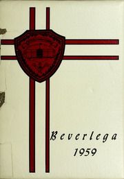 Page 1, 1959 Edition, Beverly High School - Beverlega Yearbook (Beverly, MA) online yearbook collection