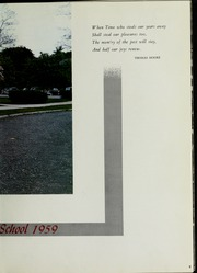 Page 13, 1959 Edition, Beverly High School - Beverlega Yearbook (Beverly, MA) online yearbook collection