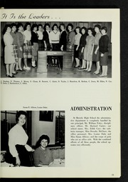 Page 15, 1963 Edition, Beverly High School - Beverlega Yearbook (Beverly, MA) online yearbook collection