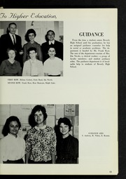 Page 17, 1963 Edition, Beverly High School - Beverlega Yearbook (Beverly, MA) online yearbook collection