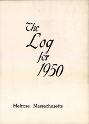 Page 7, 1950 Edition, Melrose High School - Log Yearbook (Melrose, MA) online yearbook collection