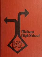 1977 Edition, Melrose High School - Log Yearbook (Melrose, MA)