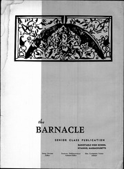 Page 8, 1958 Edition, Barnstable High School - Barnacle Yearbook (Hyannis, MA) online yearbook collection