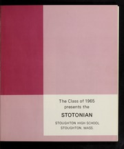 Page 5, 1965 Edition, Stoughton High School - Stotonian / Semaphore Yearbook (Stoughton, MA) online yearbook collection