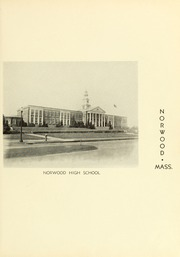 Page 13, 1938 Edition, Norwood High School - Tiot Yearbook (Norwood, MA) online yearbook collection