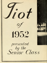 Page 6, 1952 Edition, Norwood High School - Tiot Yearbook (Norwood, MA) online yearbook collection