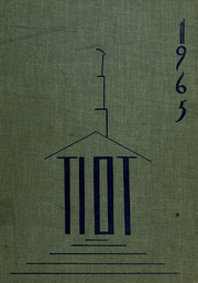 1965 Edition, Norwood High School - Tiot Yearbook (Norwood, MA)