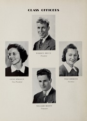 Page 16, 1939 Edition, North Quincy High School - Manet Yearbook (North Quincy, MA) online yearbook collection