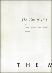 Page 6, 1945 Edition, North Quincy High School - Manet Yearbook (North Quincy, MA) online yearbook collection