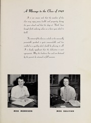 Page 11, 1949 Edition, North Quincy High School - Manet Yearbook (North Quincy, MA) online yearbook collection