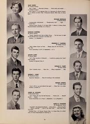 Page 20, 1952 Edition, North Quincy High School - Manet Yearbook (North Quincy, MA) online yearbook collection