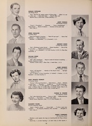 Page 22, 1952 Edition, North Quincy High School - Manet Yearbook (North Quincy, MA) online yearbook collection