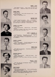 Page 23, 1952 Edition, North Quincy High School - Manet Yearbook (North Quincy, MA) online yearbook collection
