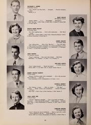 Page 36, 1952 Edition, North Quincy High School - Manet Yearbook (North Quincy, MA) online yearbook collection