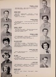 Page 37, 1952 Edition, North Quincy High School - Manet Yearbook (North Quincy, MA) online yearbook collection
