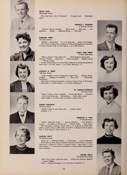 Page 38, 1952 Edition, North Quincy High School - Manet Yearbook (North Quincy, MA) online yearbook collection