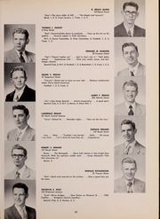 Page 39, 1952 Edition, North Quincy High School - Manet Yearbook (North Quincy, MA) online yearbook collection