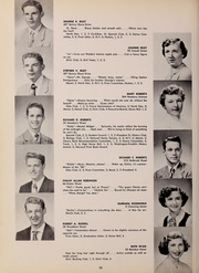 Page 40, 1952 Edition, North Quincy High School - Manet Yearbook (North Quincy, MA) online yearbook collection